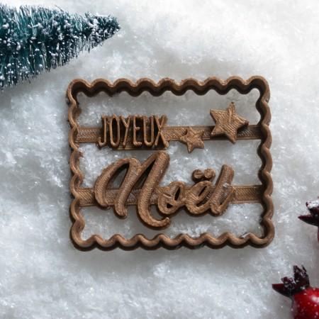 Emporte-pièce Joyeux Noël