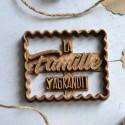 Emporte-pièce La Famille S'agrandit