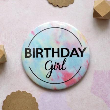 Badge Birthday Girl