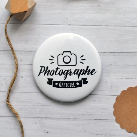 Badge Photographe Officiel
