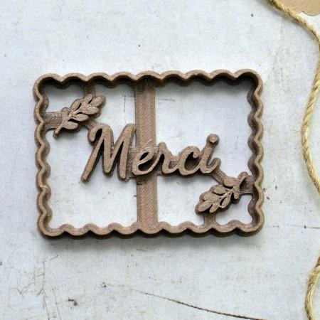 Emporte-Pièce Petit Beurre Merci - Branche