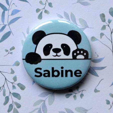 Badge Panda personnalisé