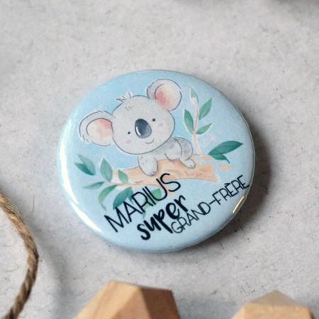 Badge Bientôt Grand Frère - Koala