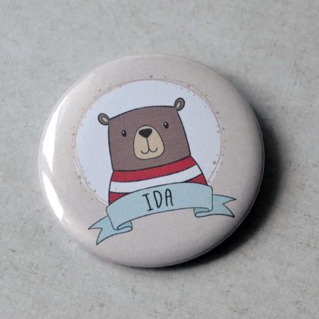 Badge Ours personnalisé