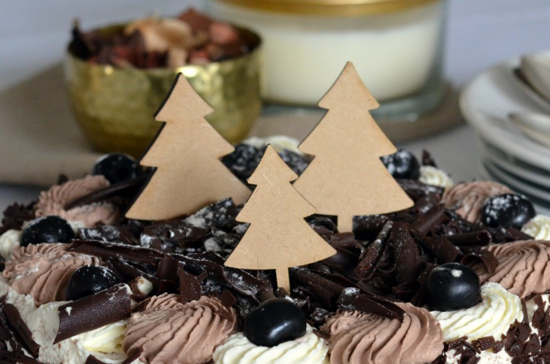 Mini Cake Toppers Sapins