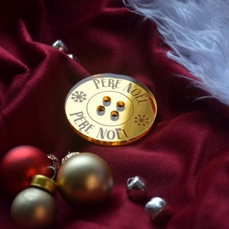 Bouton du Père Noël