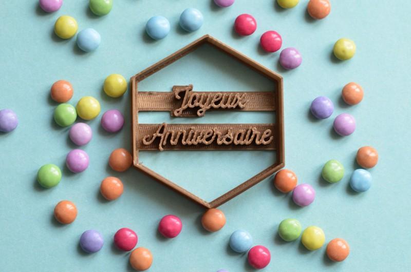 Emporte-Pièce Joyeux anniversaire