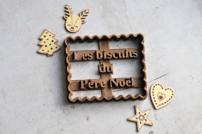 Emporte-pièce Les biscuits du Père Noël