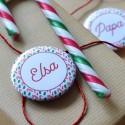 Badges Noël